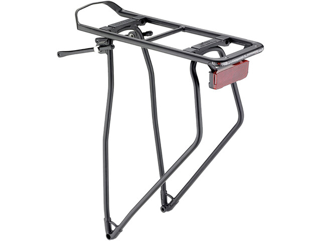 "Racktime I-Valo Deluxe Rack 28"", black"